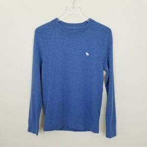 Abercrombie & Fitch Blue Wool Blend Sweater XS